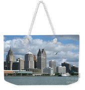 Detroit Riverfront Weekender Tote Bag