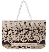 Detroit Tigers 1913 Weekender Tote Bag