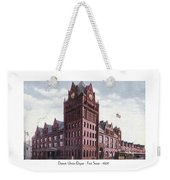 Detroit - Union Depot - Fort Street - 1907 Weekender Tote Bag