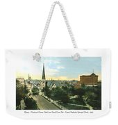 Detroit - Woodward Avenue North Grand Circus Park - Central Methodist Episcopal Church - 1920 Weekender Tote Bag