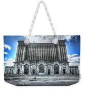 Detroit's Abandoned Michigan Central Train Station Depot Weekender Tote Bag