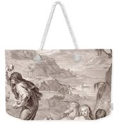 Deucalion And Pyrrha Repeople The World By Throwing Stones Behind Them Weekender Tote Bag