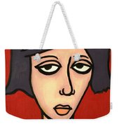Devil Girl Weekender Tote Bag