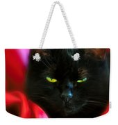 Devil In A Red Dress Weekender Tote Bag