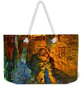 Devils Cavern Bari Greece Weekender Tote Bag