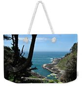Devil's Churn Oregon Coastline Weekender Tote Bag