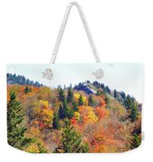 Devil's Courthouse In The Fall Weekender Tote Bag