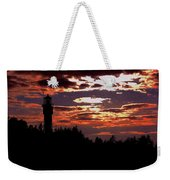Devil's Island Lighthouse Weekender Tote Bag