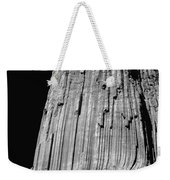 109851-bw-e-devil's Tower Bw 3 Weekender Tote Bag