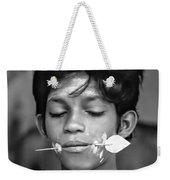 Devotion Bw Weekender Tote Bag