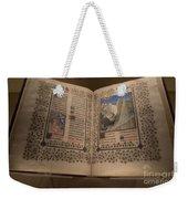 Devotional Book Weekender Tote Bag