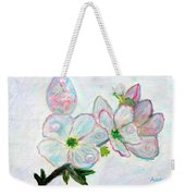 Dew And Smell Of Almond Flowers Weekender Tote Bag