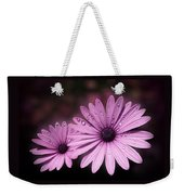 Dew Drops On Daisies Weekender Tote Bag