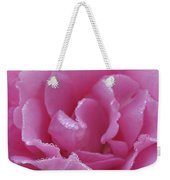 Dew Kissed Rose Weekender Tote Bag