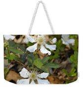 Dewberry Flower Weekender Tote Bag