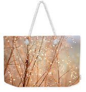 Dewdrop Morning Weekender Tote Bag