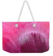 Dewdrops On Petal Weekender Tote Bag