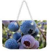 Dewy Blueberries Weekender Tote Bag
