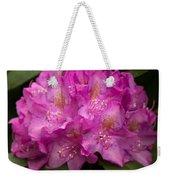 Dewy Rhododendron Weekender Tote Bag