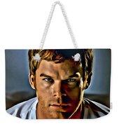Dexter Portrait Weekender Tote Bag