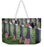Dfw National Cemetery Weekender Tote Bag