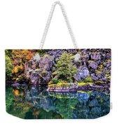 Diablo Lake Reflection Weekender Tote Bag