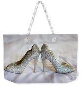 Diamante Wedding Shoes Weekender Tote Bag