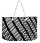 Diamond Fence Weekender Tote Bag