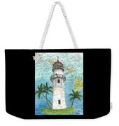 Diamond Head Lighthouse Hi Nautical Chart Map Art Weekender Tote Bag