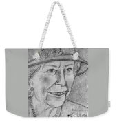 Diamond Jubilee Queen  Weekender Tote Bag