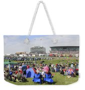 Diamond Jubilee Weekend At The Derby Horse Race On Epsom Downs  Weekender Tote Bag