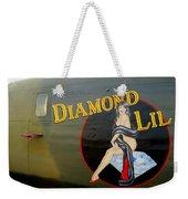 Diamond Lil B-24 Bomber Weekender Tote Bag