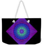 Diamond Swirl Weekender Tote Bag by Sandy Keeton