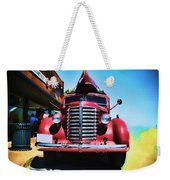 Diamond T Truck - Tomato Red Weekender Tote Bag