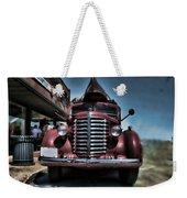 Diamond T Vintage Truck Art Weekender Tote Bag