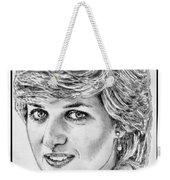 Diana - Princess Of Wales In 1981 Weekender Tote Bag