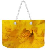 Diary Of A Buttercup Nbr 4 Weekender Tote Bag