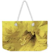 Diary Of A Buttercup Soft Weekender Tote Bag