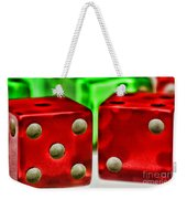 Dice - Lucky Seven Weekender Tote Bag