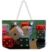 Dice Weekender Tote Bag