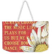 Dictionary Floral 1 Weekender Tote Bag