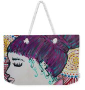 Did You See Her Hair Weekender Tote Bag by Jacqueline Athmann