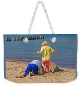 Digging Deep Weekender Tote Bag