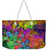 Digiral Abstract Colors Rich Weekender Tote Bag