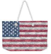 Digital Camo Us Flag Weekender Tote Bag