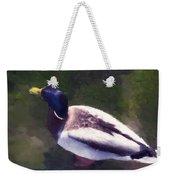 Digital Duck Weekender Tote Bag