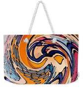 Digital Dunkin Weekender Tote Bag by Sarah Loft