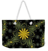 Digital Flowers Weekender Tote Bag
