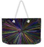 Digital Infinity Abstract Weekender Tote Bag