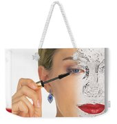 Abstract Make Up Weekender Tote Bag